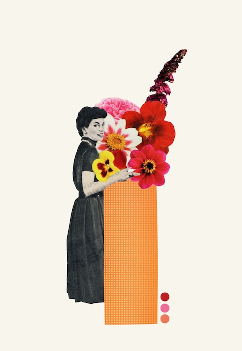 Spring isnt Spring anymore collage by Laura Redburn