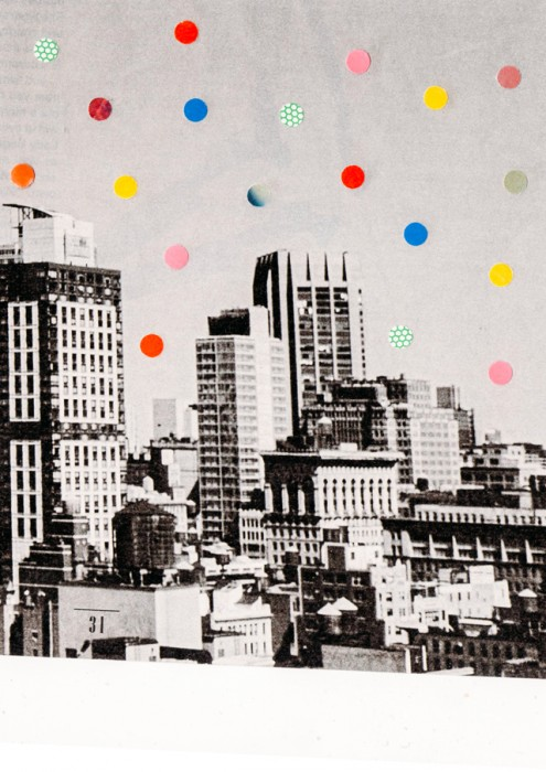 Citydots collage by Laura Redburn