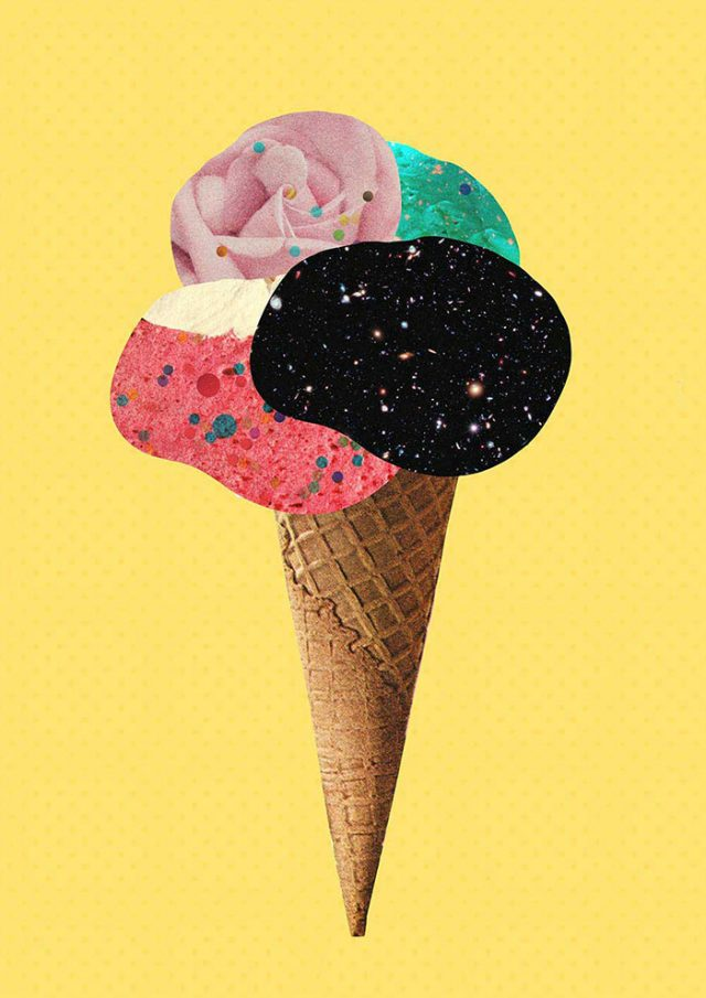 Ice Cream Collage by Laura Redburn