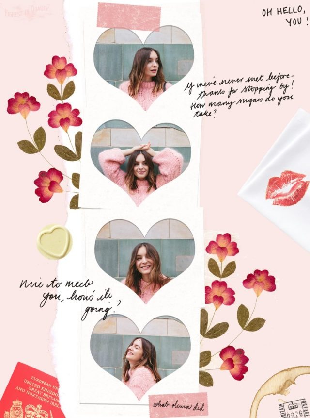 What Olivia Did collage by Laura Redburn